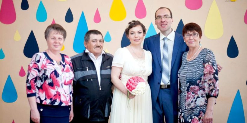 Венчание Сергея и Марины - свадьба в Уфе