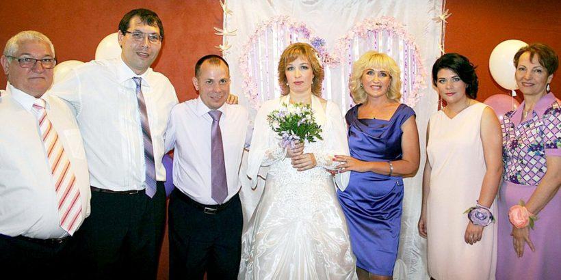 Христианская свадьба: венчание Сергея и Анжелы